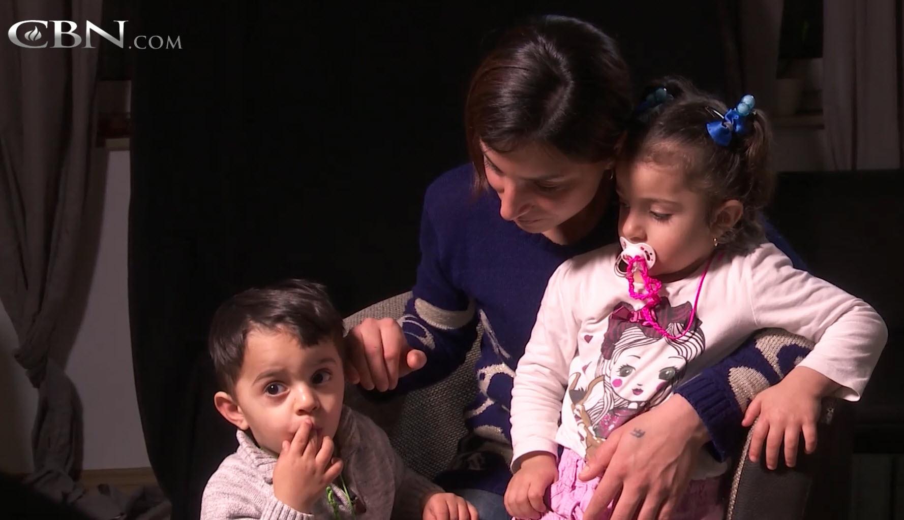 CBN interviewt jesidische Flüchtlinge in Stuttgart